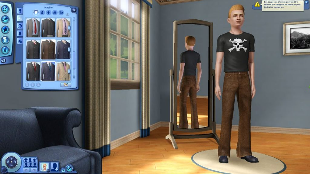 création perso sims3