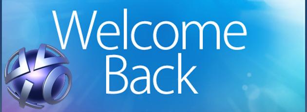 welcomeback PSN